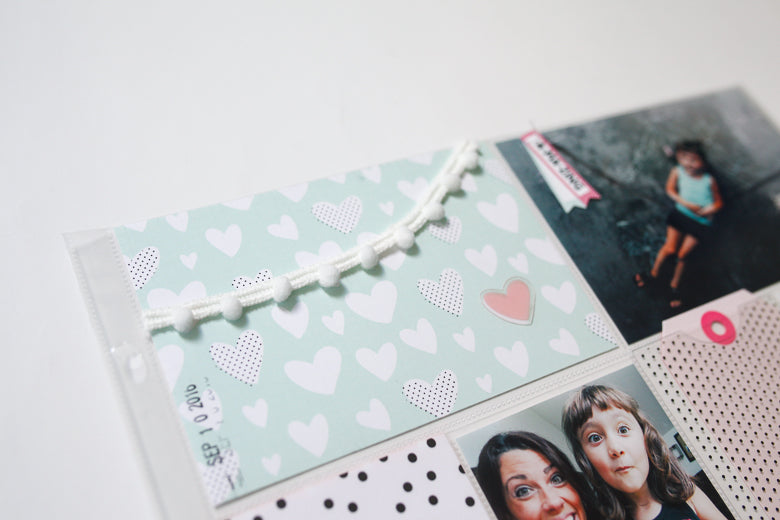 Pocket Page Layout by Marybeth Hancher | @FelicityJane