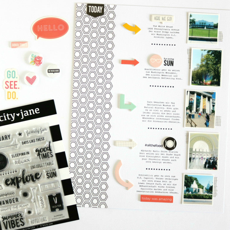 Today Layout by Evelyn Wolff | @FelicityJane