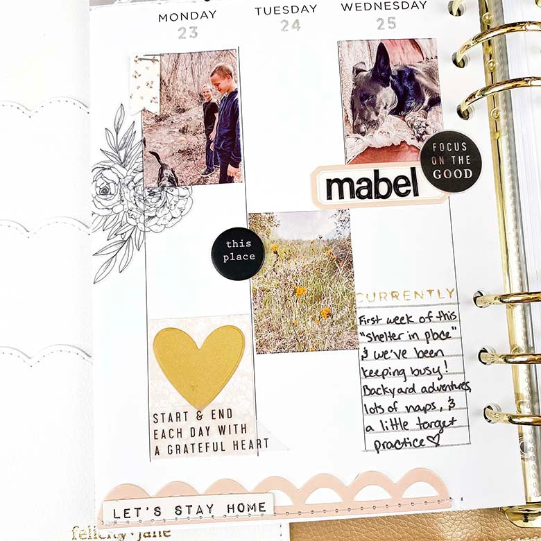 Planner Pages by Lindsey Lanning for Felicity Jane