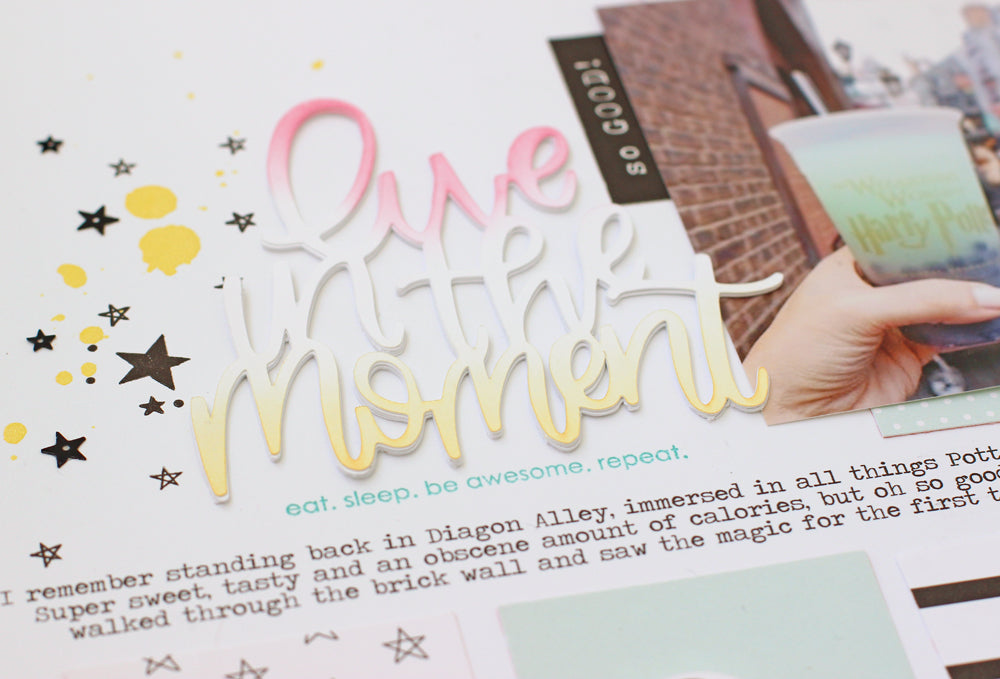 Moment Layout by Nancy Damiano | @FelicityJane