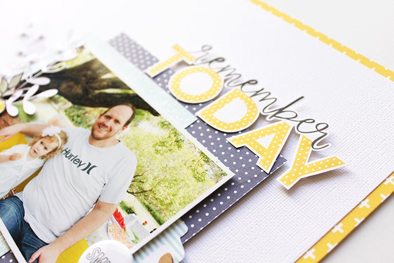 Remember Today Layout by Mandy Melville | @FelicityJane