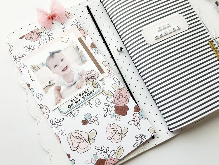 Scalloped Traveler's Notebook Keepsake 2 | Sarah Zayas | Felicity Jane