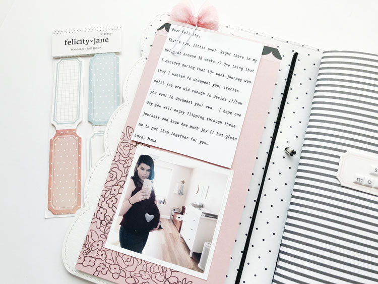 Scalloped Traveler's Notebook Keepsake 3 | Sarah Zayas | Felicity Jane