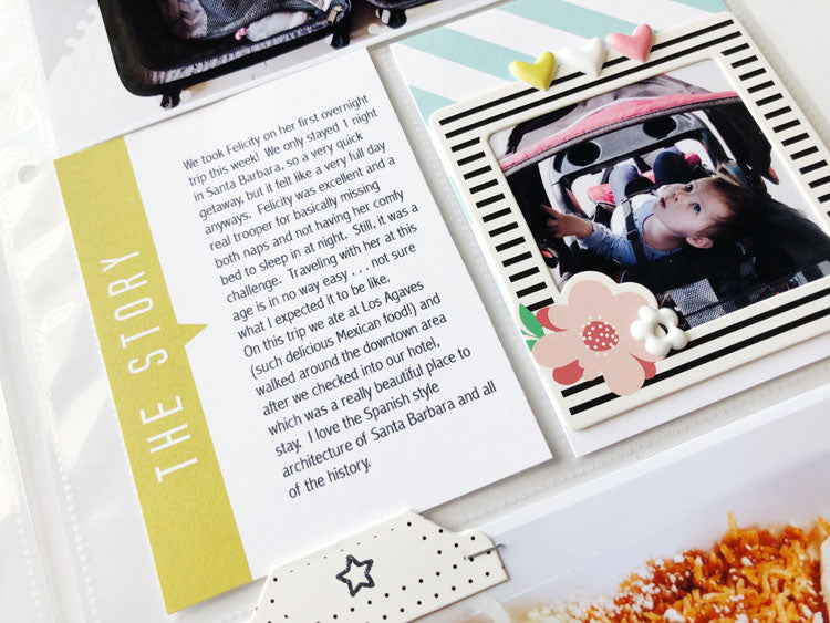 6x12 Pocket Page Layout Using Jaimee Kit 4 | Sarah Zayas | Felicity Jane