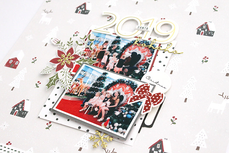 Scrapbook Layout by Mandy Melville for Felicity Jane