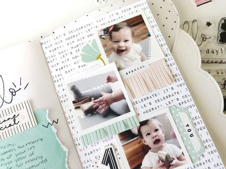 Traveler's Notebook Spread by Sarah Zayas for Felicity Jane