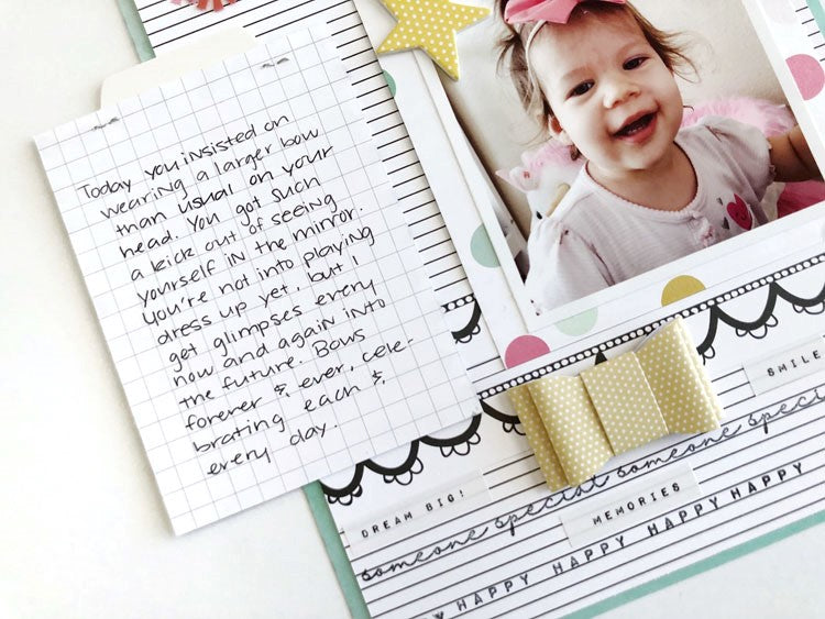 Scrapbook Layout by Sarah Zayas for Felicity Jane