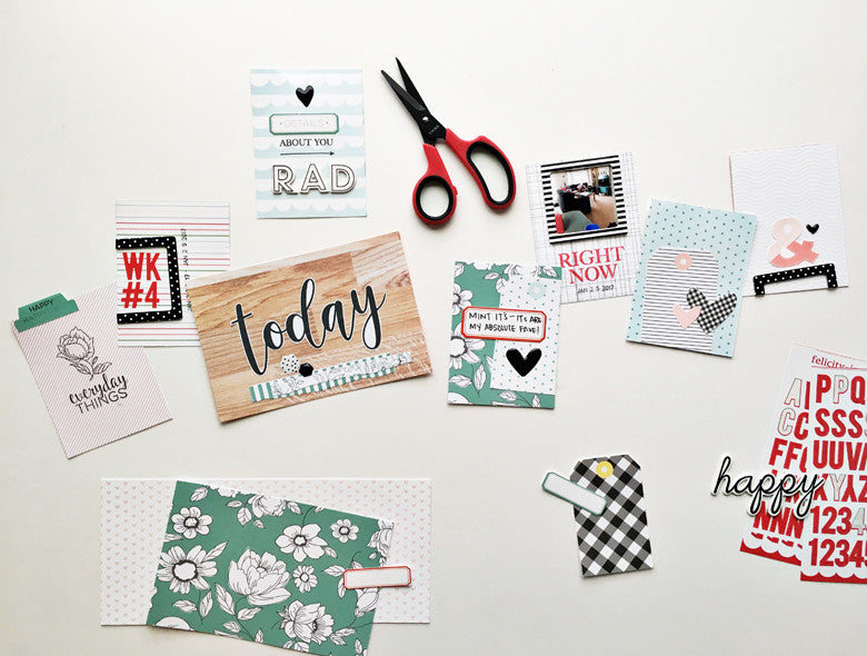 Simple Embellishments for your Pocket Cards by Andrea Gray | @FelicityJane