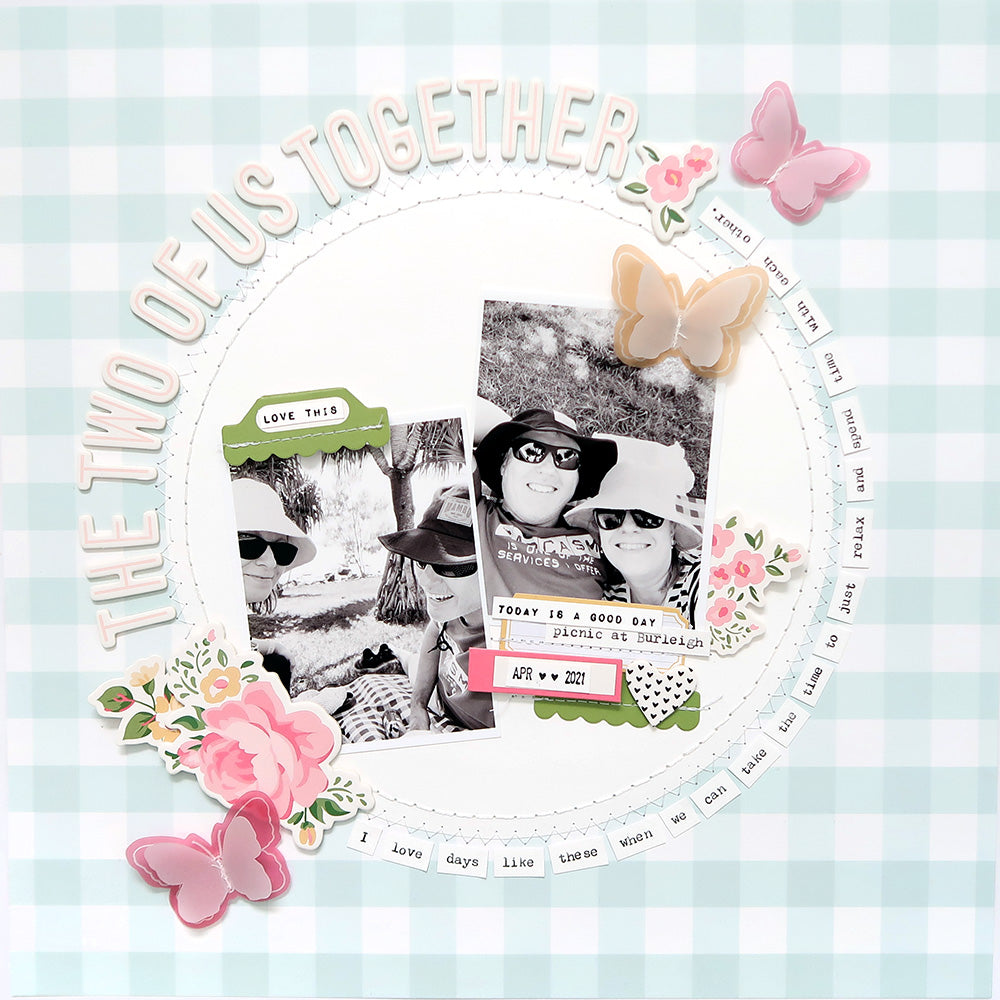 Sketch Layout by Sheree Forcier for Felicity Jane