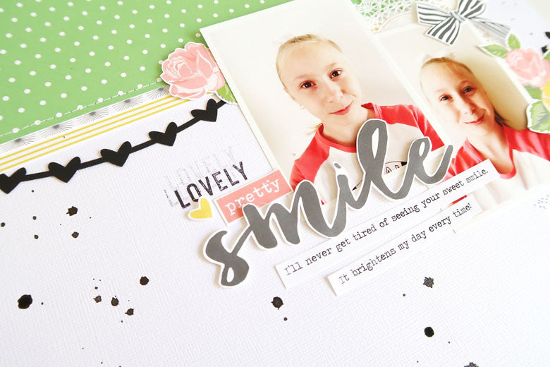 Smile Layout by Sheree Forcier | @FelicityJane