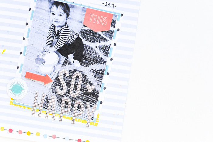 So Happy Layout by Suzanna Stein | @FelicityJane