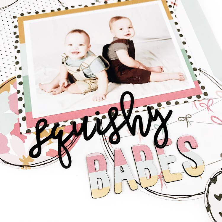 Scrapbook Layout by Lindsey Lanning for Felicity Jane
