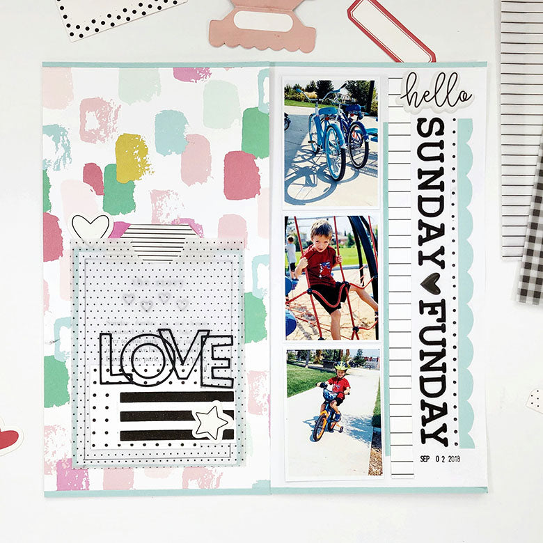 Sunday Fun-day TN with Jaimee Kit 1 | Lynne Ashcraft | Felicity Jane