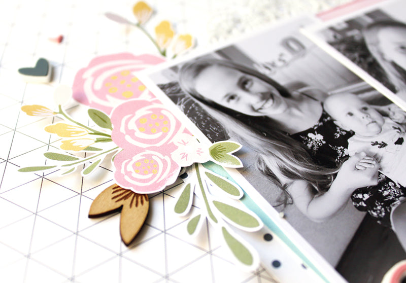 Sweet Cousins Layout by Mandy Melville | @FelicityJane