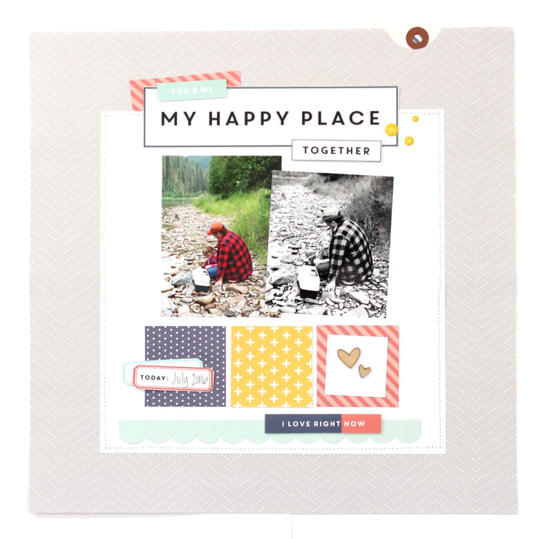 My Happy Place by Dannielle Wright | @FelicityJane