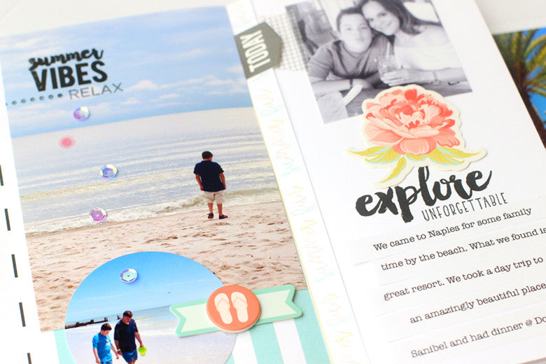Stamped Notebook by @nancydamiano | @felicityjane
