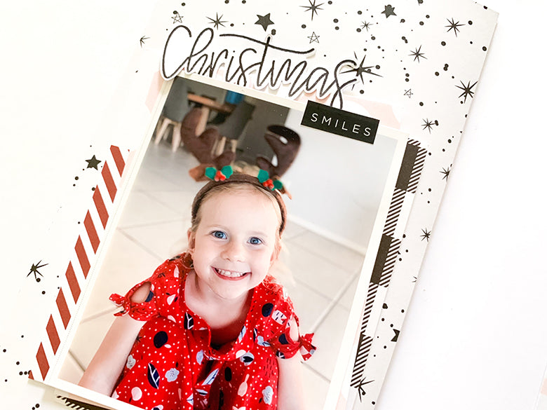 TN Layout 'Christmas Smiles' with Holly Kit 3 | Mandy Melville | Felicity Jane