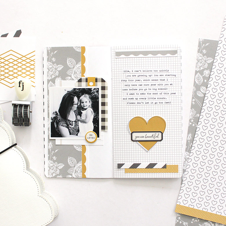 TN Layout with Jill Kit 1 | Mandy Melville | Felicity Jane