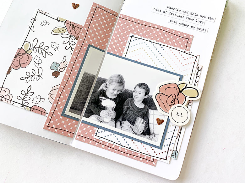 Love TN Layout 2 | Mandy Melville | Felicity Jane