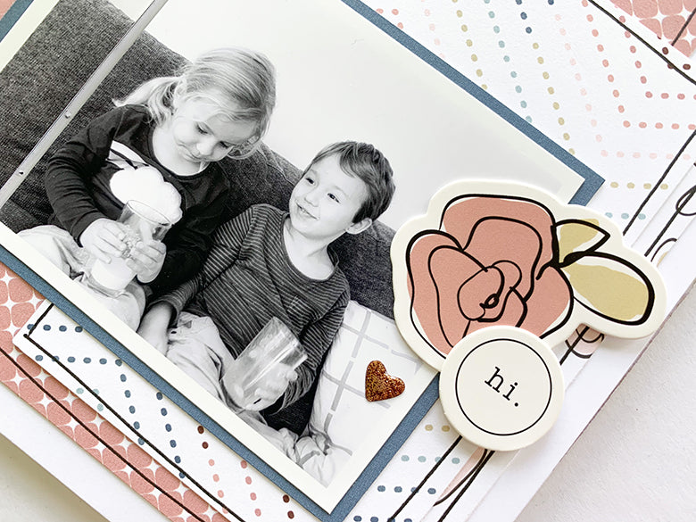 Love TN Layout 3 | Mandy Melville | Felicity Jane