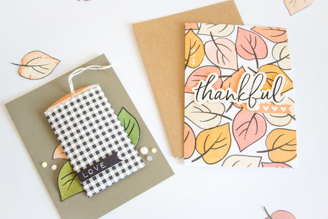 Thankful Cards with the Amber Kit 4 | Kathleen Graumüller | Felicity Jane