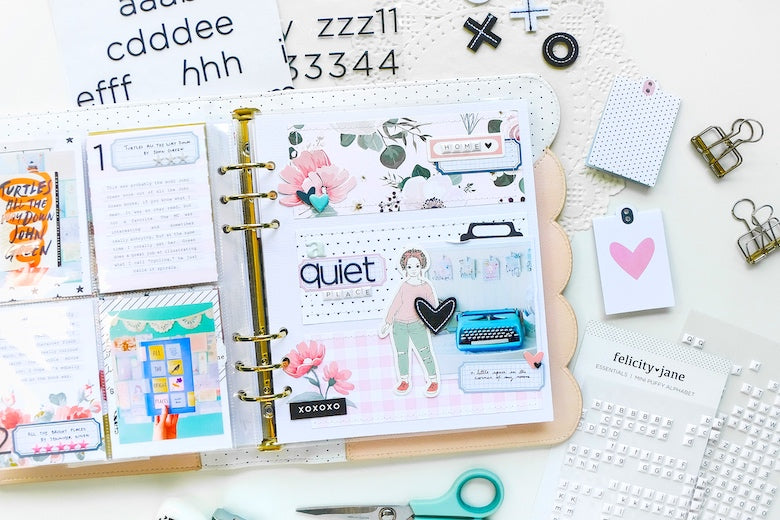 Note to Self Layout by Tiffany Julia for Felicity Jane