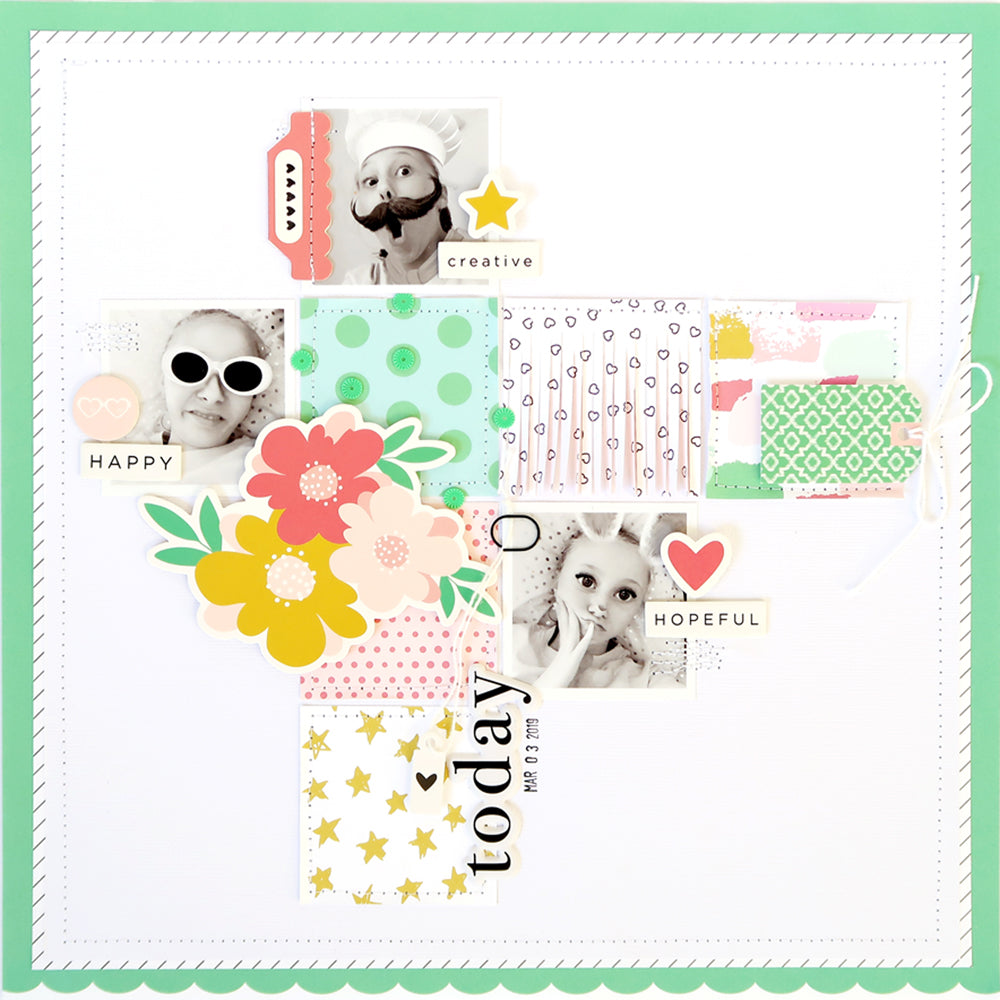 Today Layout | Sheree Forcier | Felicity Jane