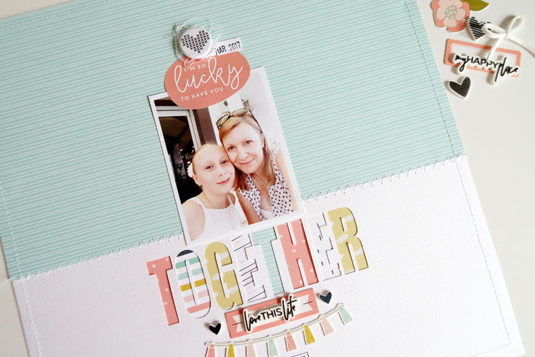 Together Layout by Sheree Forcier | @FelicityJane