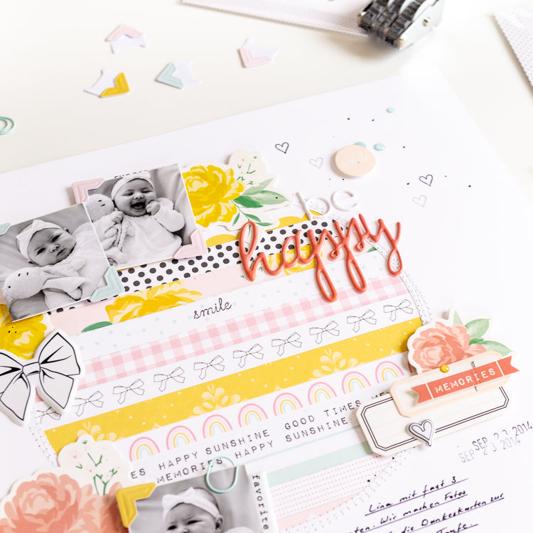 Be Happy Layout 5 | Ulrike Dold  | Felicity Jane