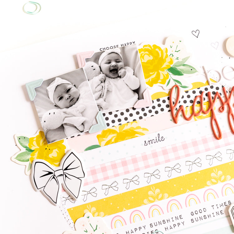 Be Happy Layout 8 | Ulrike Dold  | Felicity Jane