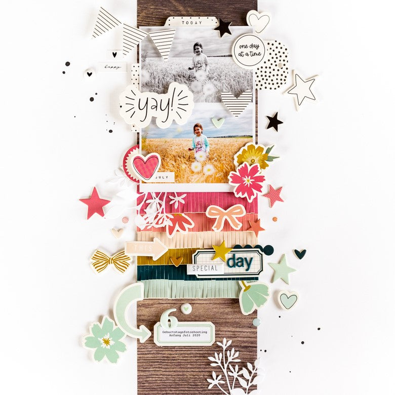 Scrapbook Layout by Ulrike Dold for Felicity Jane