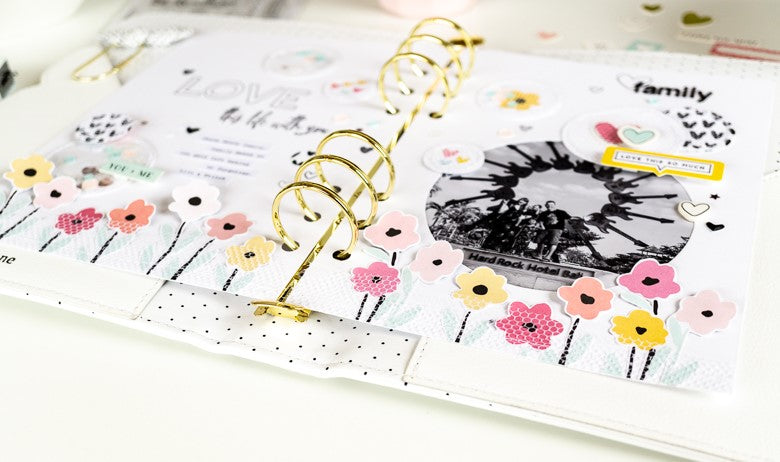 Binder Spread by Ulrike Dold for Felicity Jane