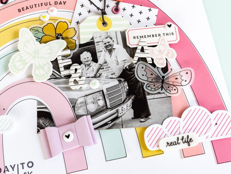 Scrapbook Layout by Ulli Dold for Felicity Jane