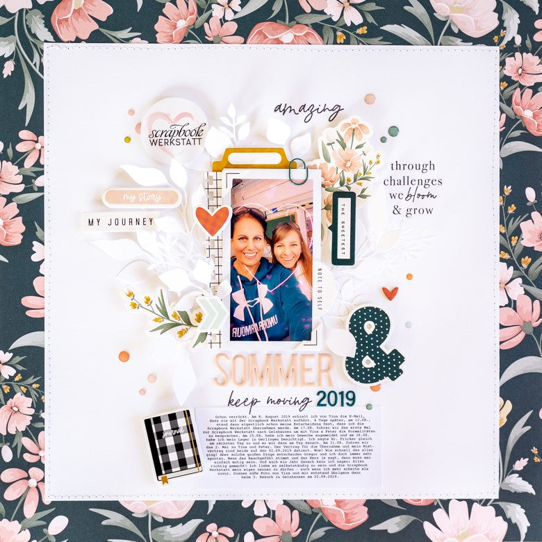Sketch Layout by Ulrike Dold for Felicity Jane