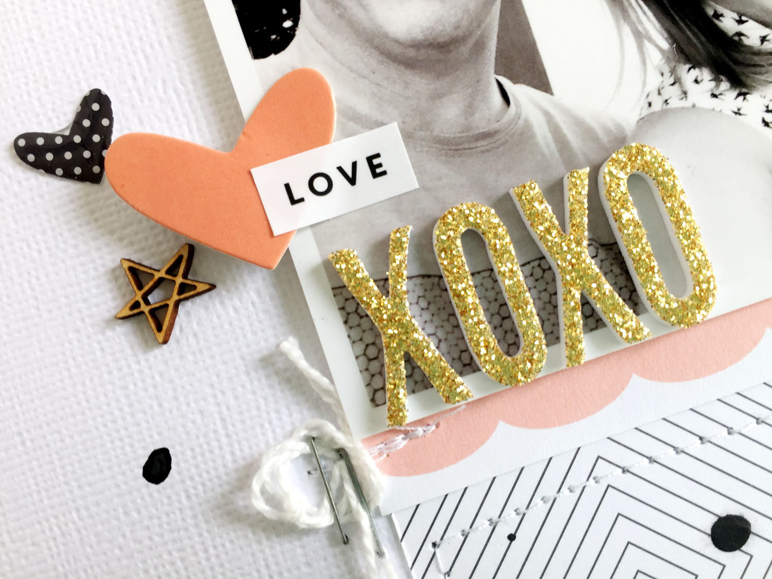XOXO Layout by Sheree Forcier |@FelicityJane
