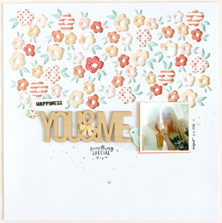 You & Me Layout by Evelyn Wolff | @FelicityJane