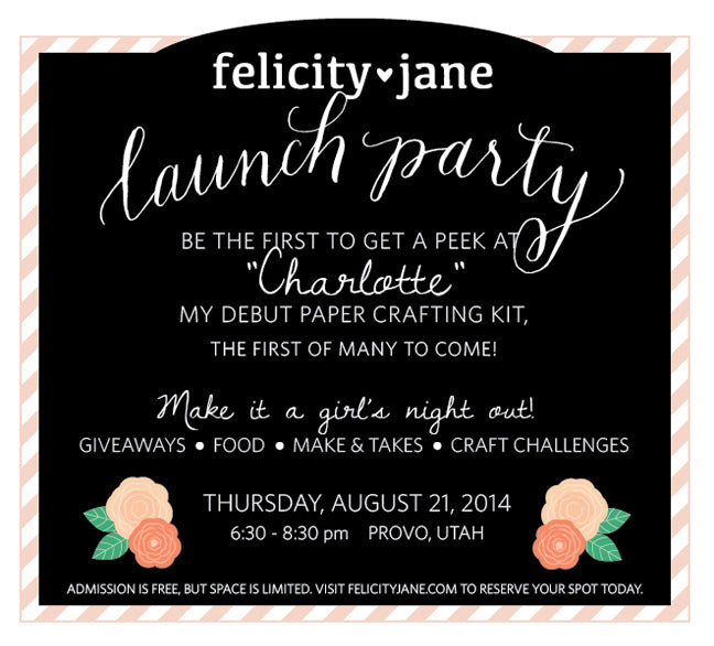 Felicity Jane Launch Party