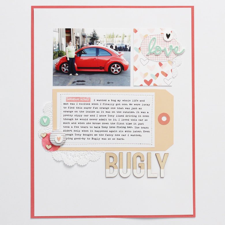 Bugly layout by Banning Lane | @FelicityJane