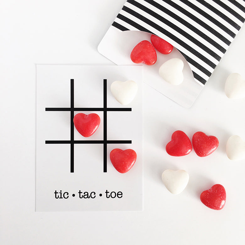Felicity Jane Tic Tac Toe card | free printable