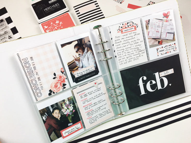 Tips & Tricks: pocket pages | @felicity_jane | Julie Kinneeveauk