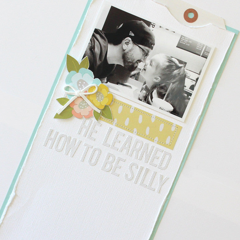He Learned How To Be Silly layout by Banning Lane | @FelicityJane