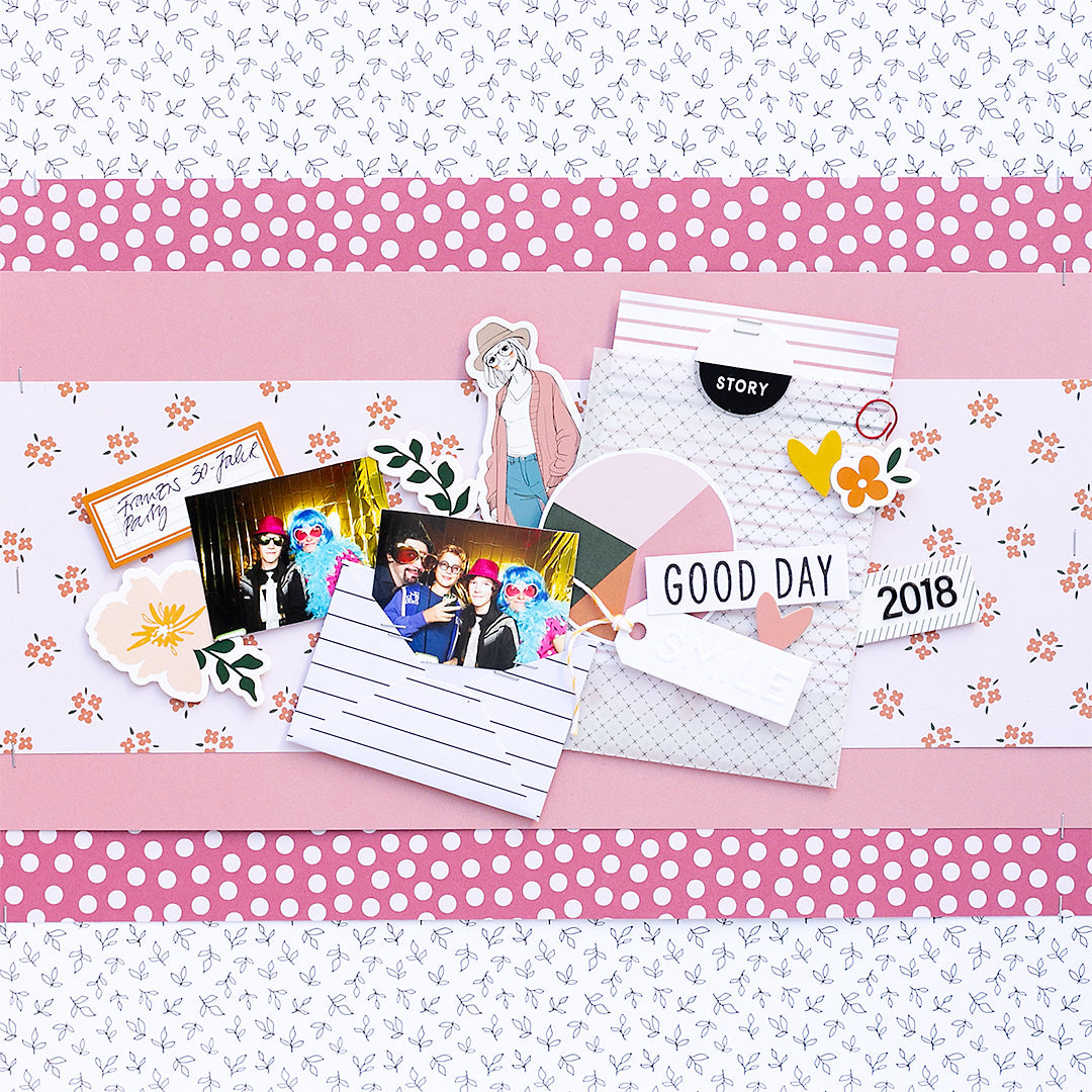 Scrapbook Layout by Sandra Dietrich for Felicity Jane
