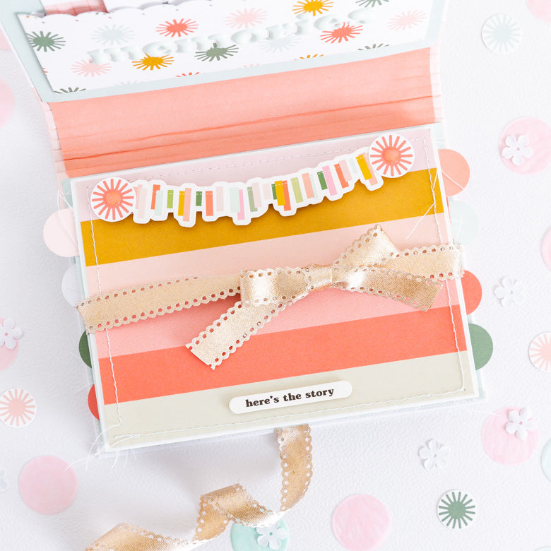 Mini Album by Guest Designer Celes Gonzalo for Felicity Jane