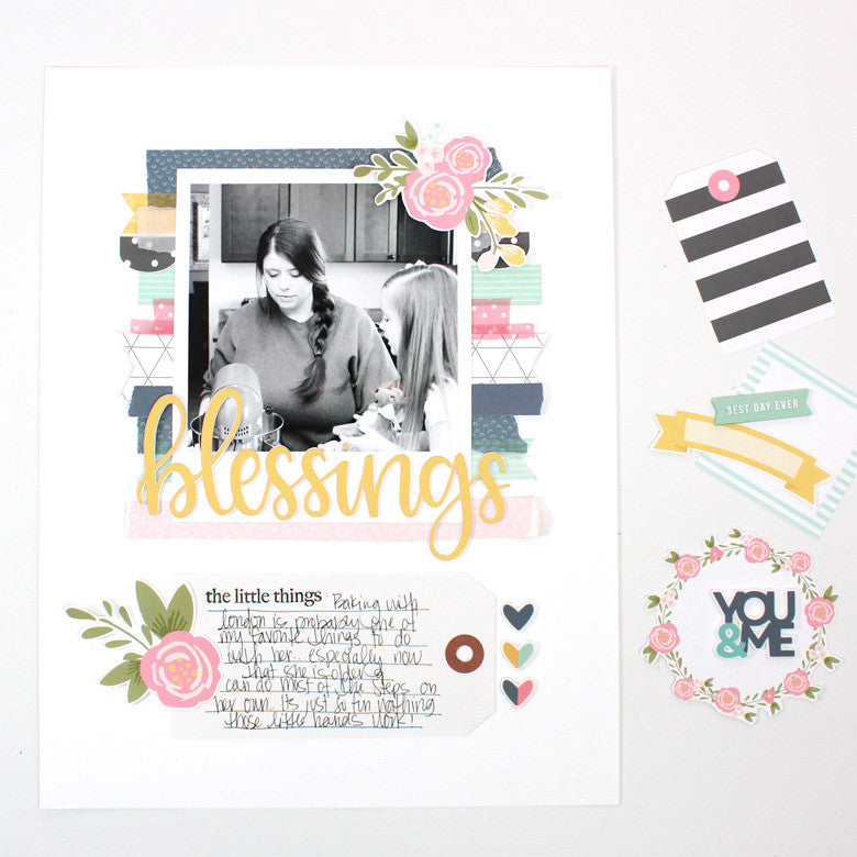 Blessing Layout by Banning Lane | @FelicityJane