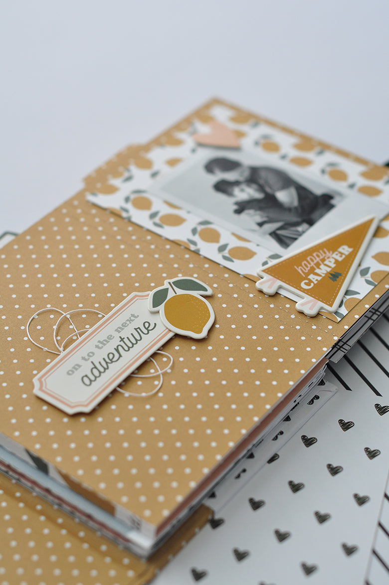 Mini Album by Guest Designer Tatiane Pereira for Felicity Jane