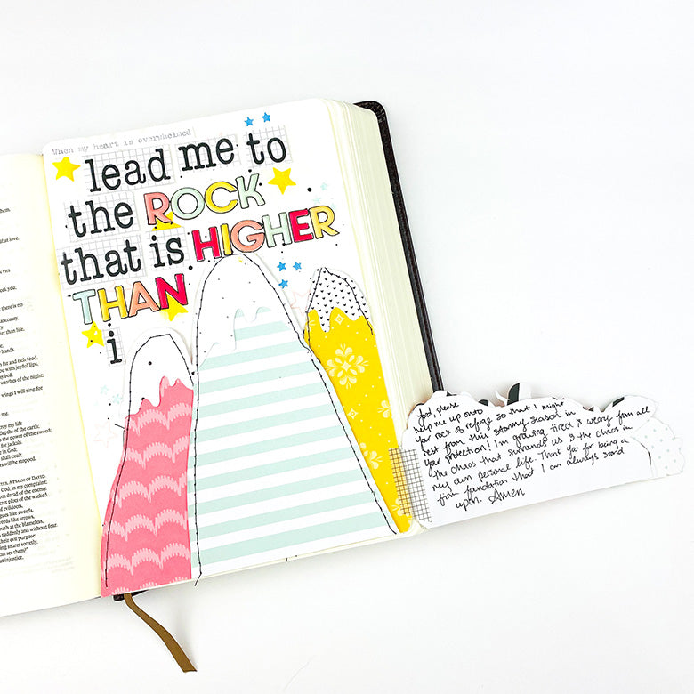 Bible Journaling by Lindsey Lanning for Felicity Jane