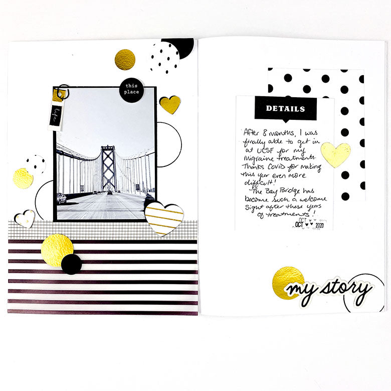 Sketch Notebook Spread by Lindsey Lanning for Felicity Jane