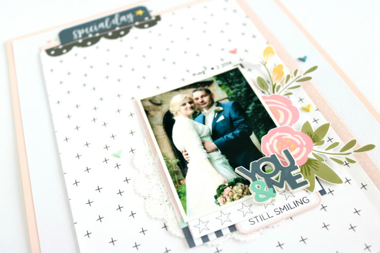 Special Day Layout by Evelyn Wolff | @FelicityJane
