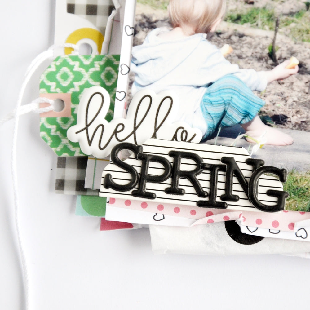 Hello spring layout - Step 8 | Anne Keller | Felicity Jane