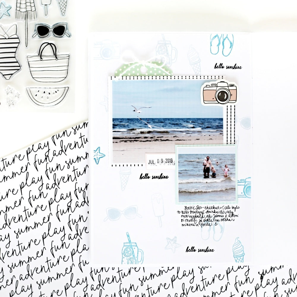 Journal Pages by Jana Bennett for Felicity Jane